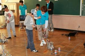 豊橋技術科学大学によるロボコン体験