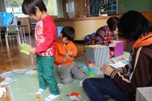 託児室でも子どもたちがモノづくり
